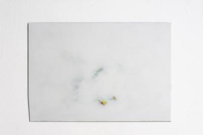 Lack auf Aluminium, 40 x 50 cm