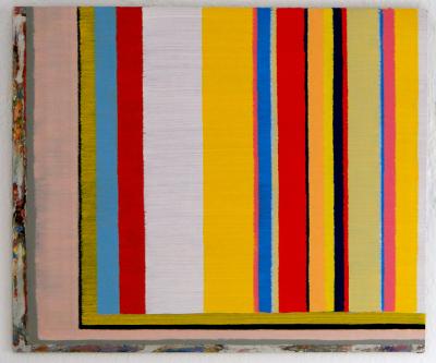 Ölfarbe auf Aluminium, 38 x 46 cm