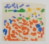 Öl auf gefaltetem Papier, 30 x 37 cm, 2008